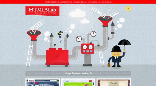 HTML5 Labホームページ