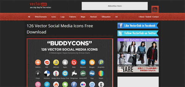 126 Vector Social Media Icons Free Download